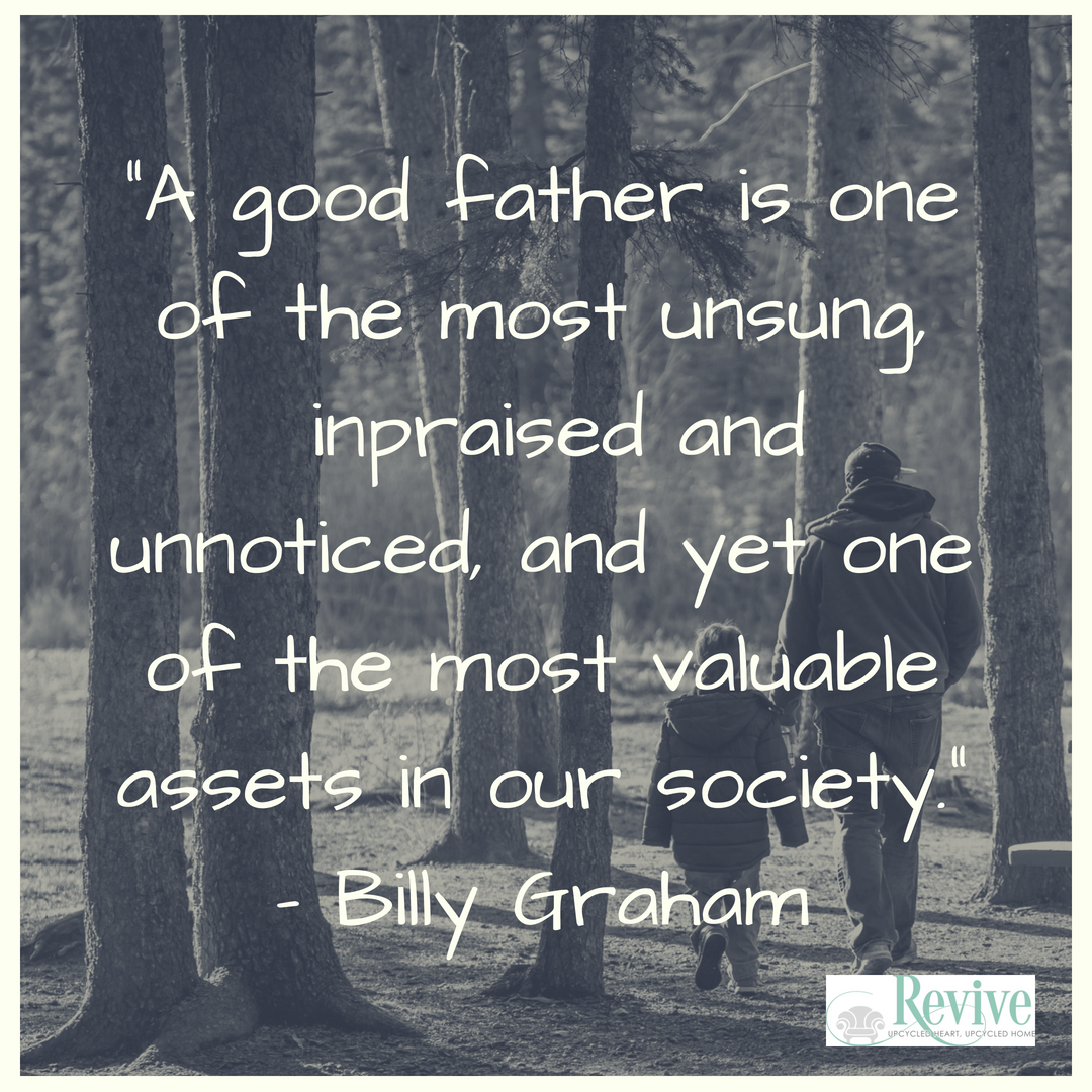 This is a great quote from the Late billy graham about the