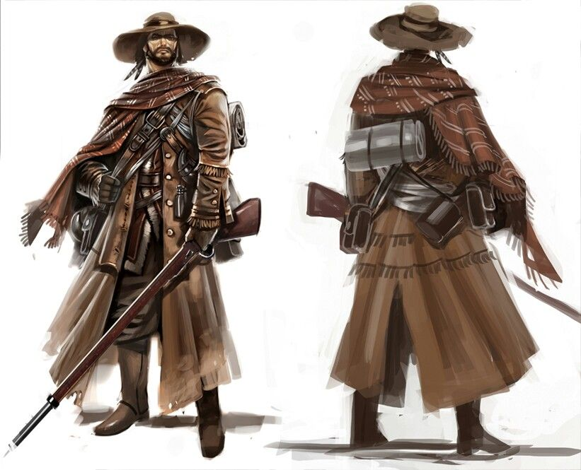 Assassins Creed 3 The Marksman Steampunk Characters Character Design Concept