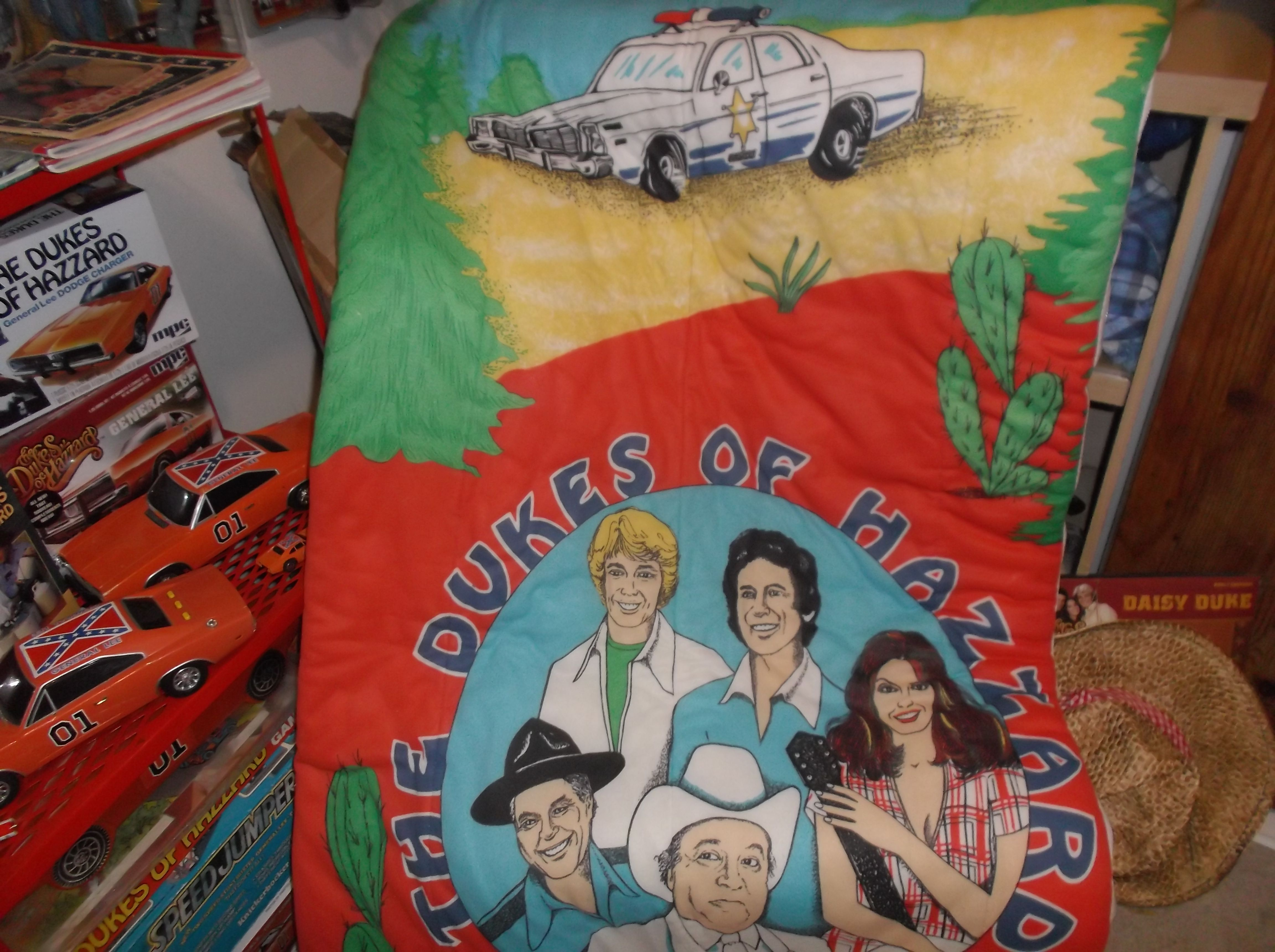 Dukes of Hazzard sleeping bag (Part of my collection)