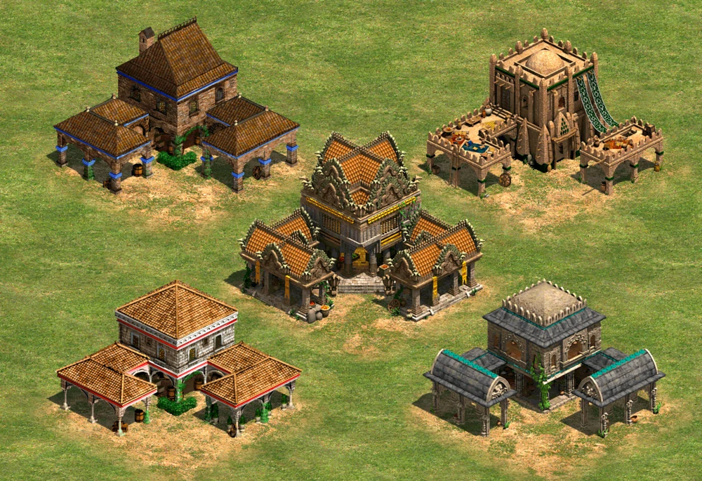 Town Center Age Of Empires Ii Age Of Empires Series Wiki Fandom Powered By Wikia Age Of Empires Empire Empire Series
