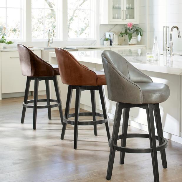 Isaac Swivel Bar & Counter Stool   Counter stools, Kitchen ...