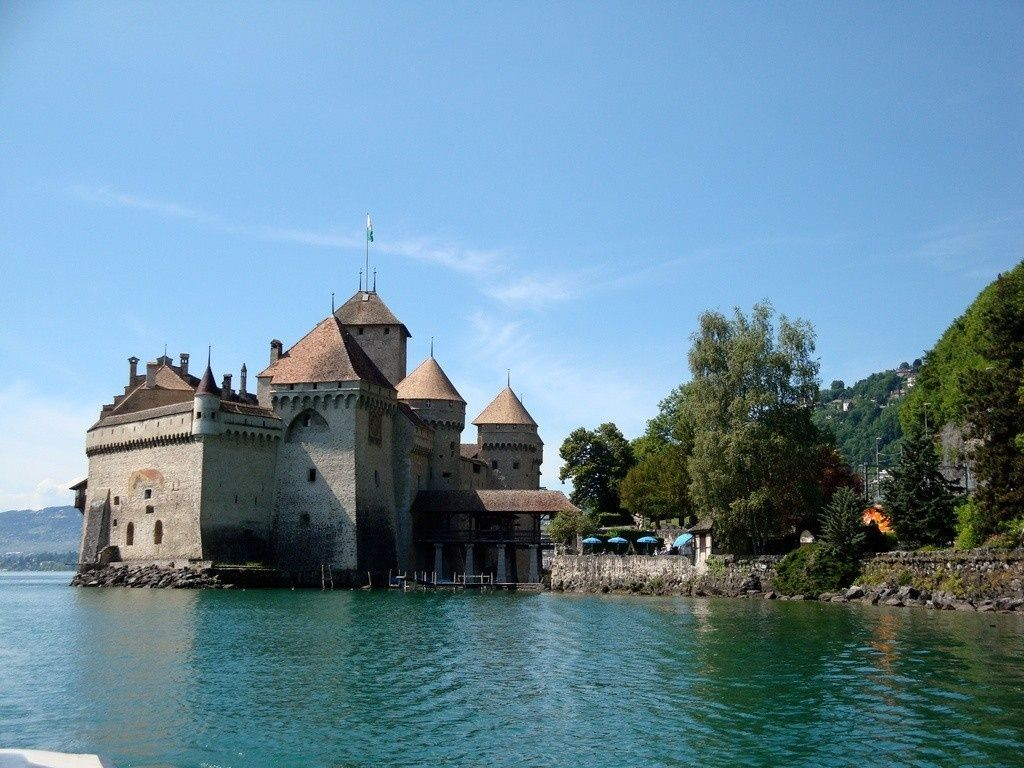 SIGHTS. Château De Chillon. Certainly the greatest attraction at Montreux and one of Switzerland's must-sees is the Château de Chillon, the awe-inspiringly picturesque 12th-century castle that rears out of the water at Veytaux, down the road from and within sight of Montreux. C