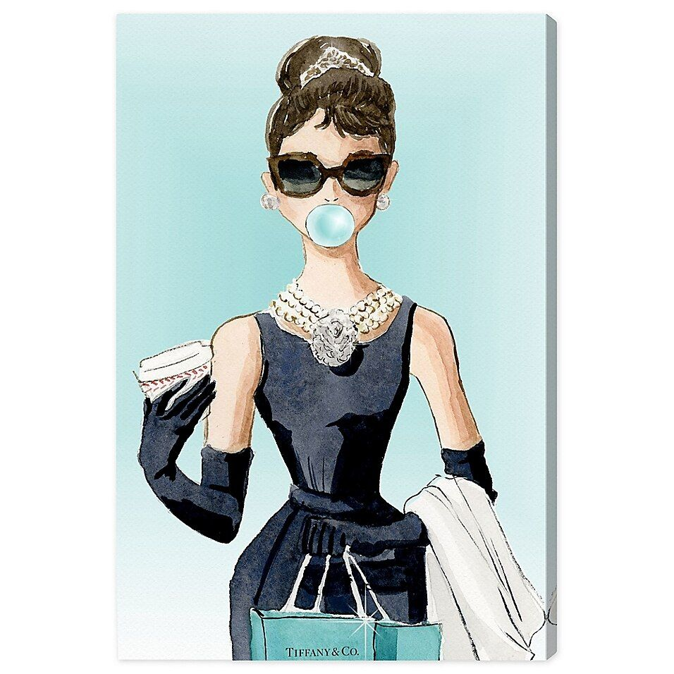 Oliver Gal Bubble Gum Jewelry Canvas Wall Art Bed Bath Beyond Oliver Gal Wall Art Canvas Prints Canvas Wall Art