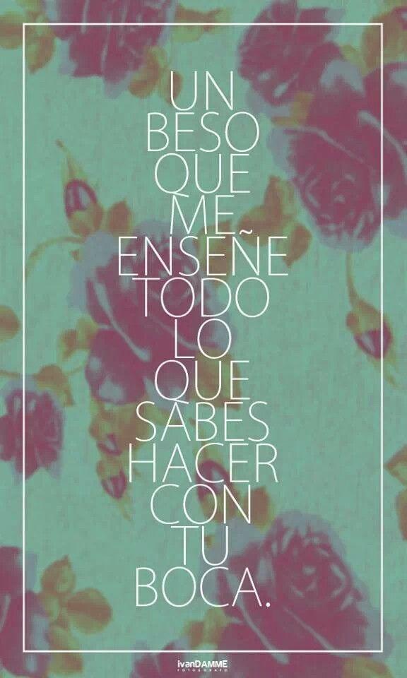 Un beso de tu boca | ♫ Banda/Norteñas/etc ♫ | Pinterest | Besos ...