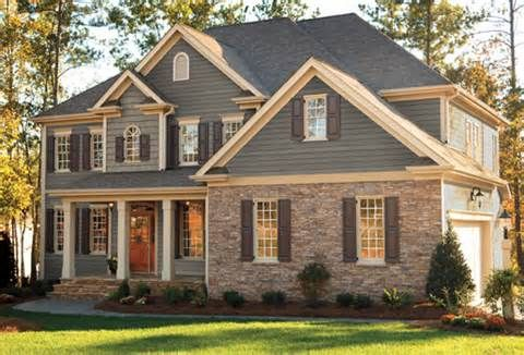 Pin By June Rodgers Life Coach On New Home Construction House Exterior Exterior House Colors House Siding