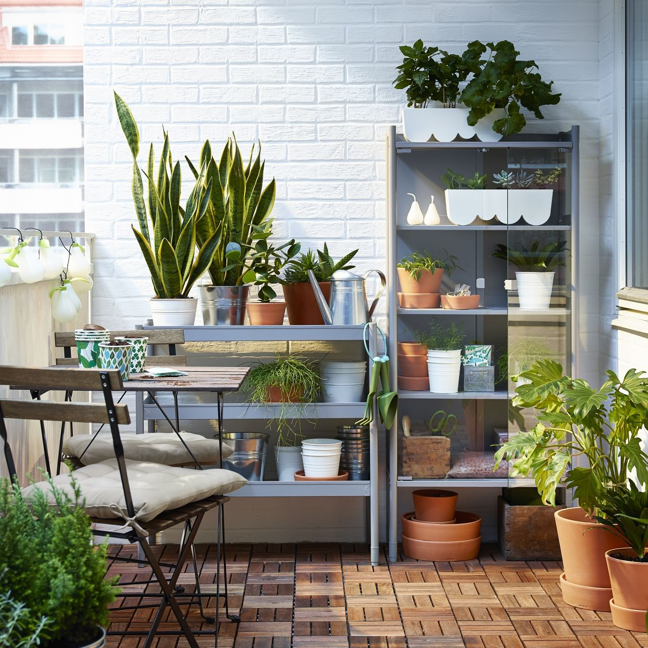 Arredare Il Balcone Ikea pin di ikea italia su outdoor: idee per arredare il tuo