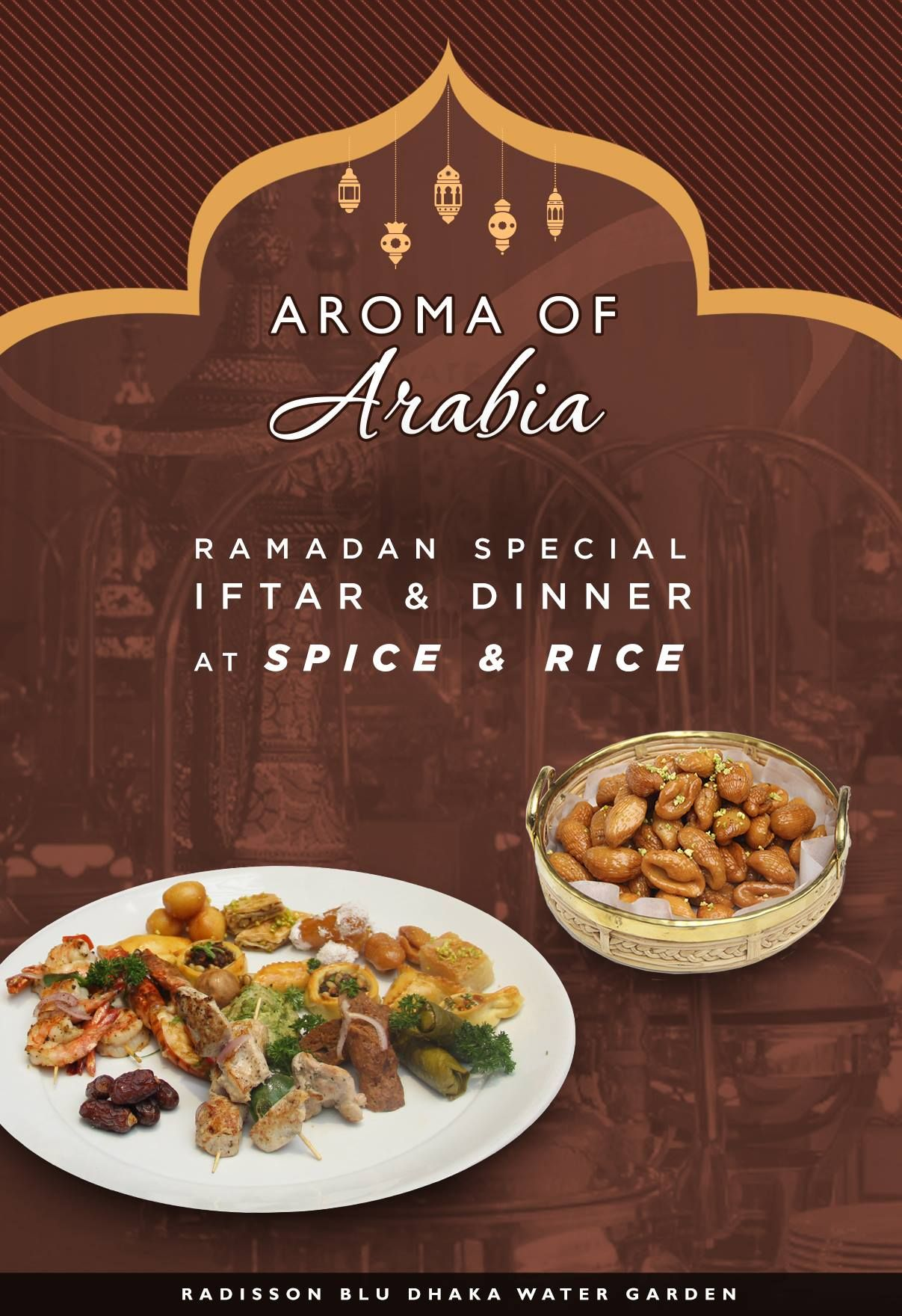 Spice & Rice is embracing an Aroma of Arabia. Introducing, a variety ...