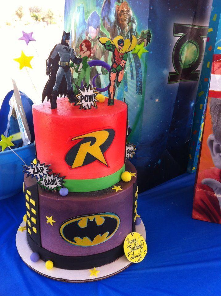 batman and robin cake | Batman and Robin Cake | Party Ideas ...