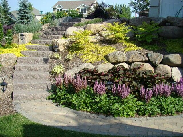 Superior Landscaping For The Hill Lawn And Landscape Lawn Landscape