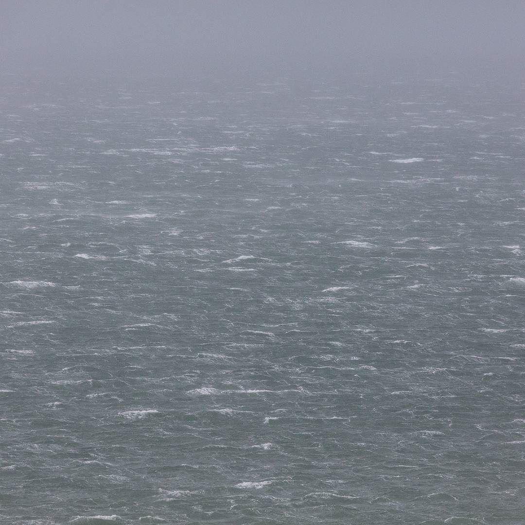 Seascape in gale Newport Bay Pembrokeshire. #ukcoastwalk Photo: Quintin Lake www.theperimeter.uk