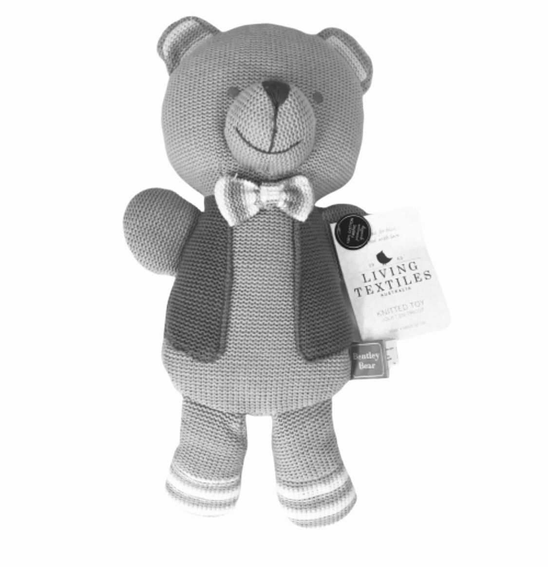 Living Textiles Knitted Toy Bentley Bear 38 Cm In 2020 Spielzeug