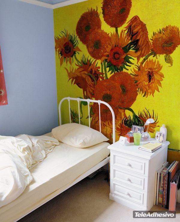Fototapeten Sonnenblumen_Van Gogh