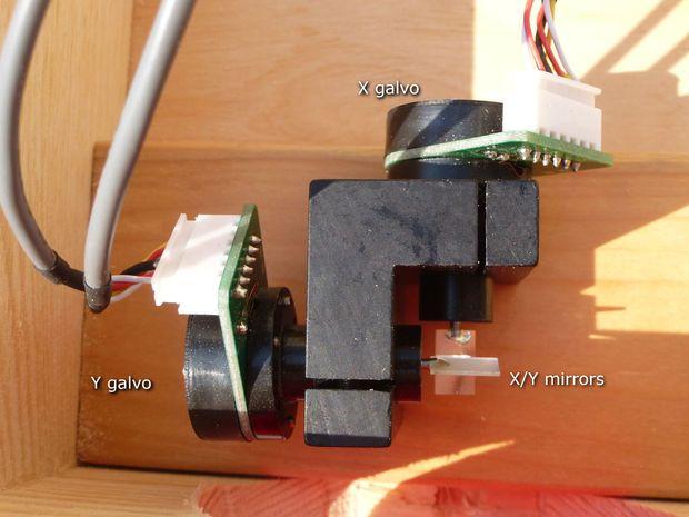Arduino Laser Show With Real Galvos | Arduino | Arduino