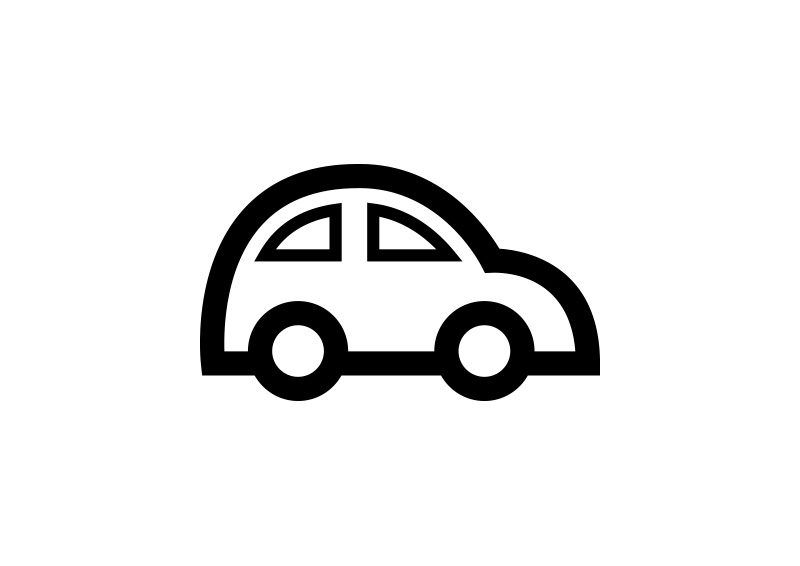Car Outline Free Vector Icon Vector Free Vector Icons Outline Illustration