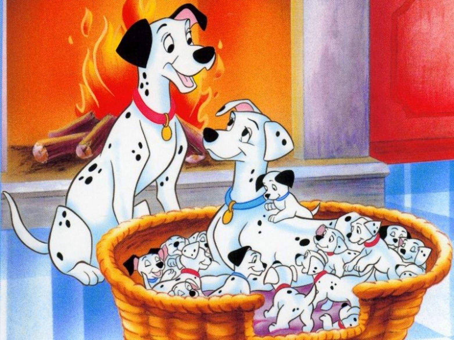 Beautiful Disney Cartoon 101 Dalmatians Wallpapers Free Download 101 Dalmatiner Disney Filme Disney Animation
