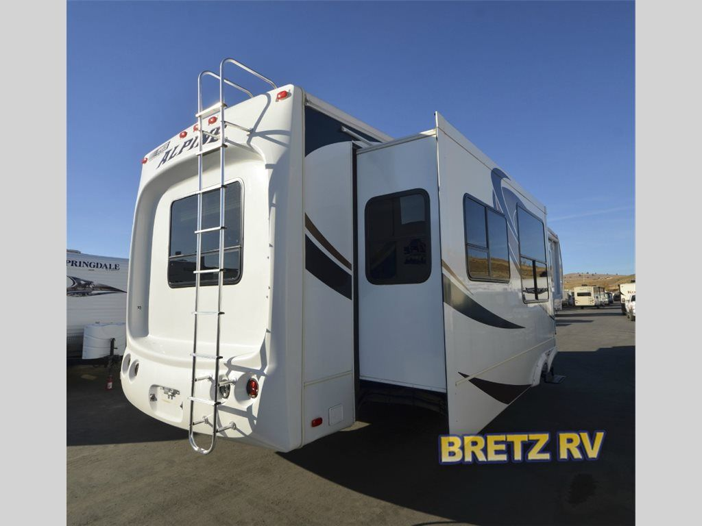 Used 2010 Alpine 3500re Fifth Wheel At Bretz Rv Marine