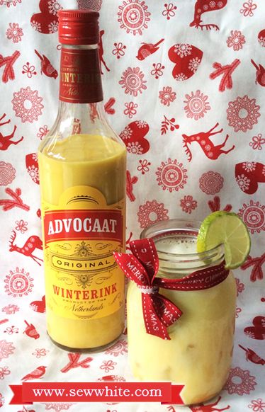 Sew White Christmas cocktails Aldi Advocaat snowball | Cocktail Hour ...