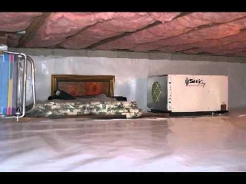 Cleanspace rev tement de vide sanitaire a ration et - Maison sans vide sanitaire humidite ...