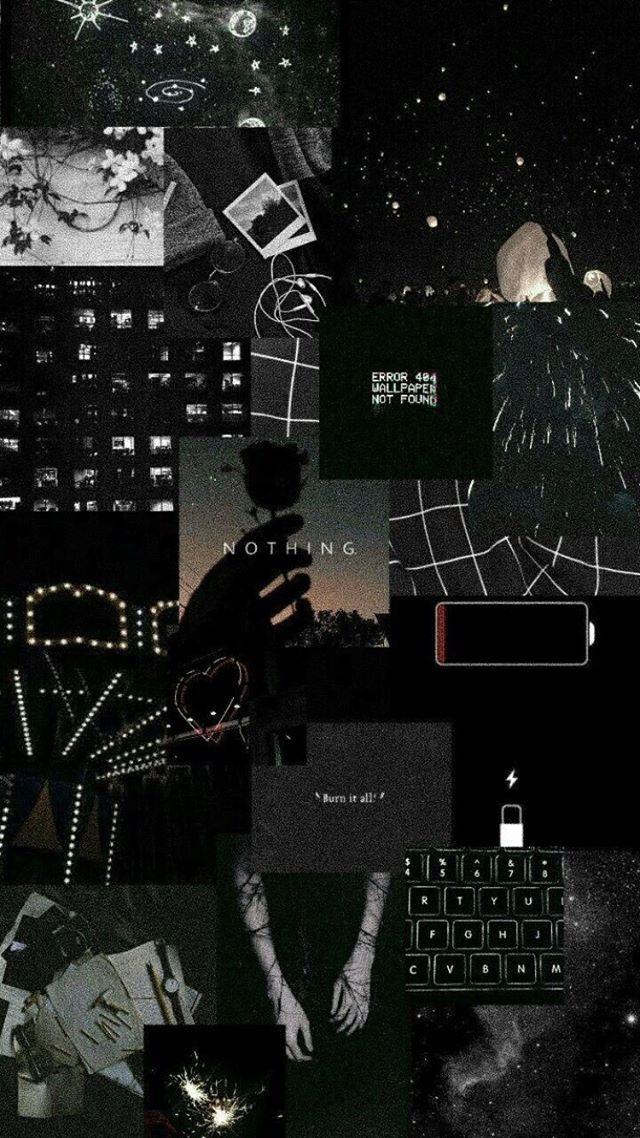 Cerita • Instagram | Cute black wallpaper, Black aesthetic ...