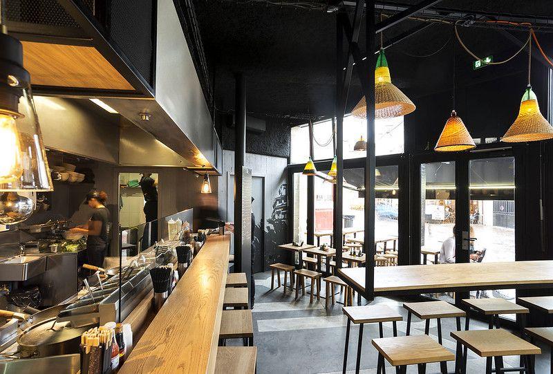Pitaya Le Concept De Street Food Bordelais Arrive A Toulouse Gastronomie Captendan Design Interieur Restaurant Idee Deco Restaurant Interieur De Restaurant