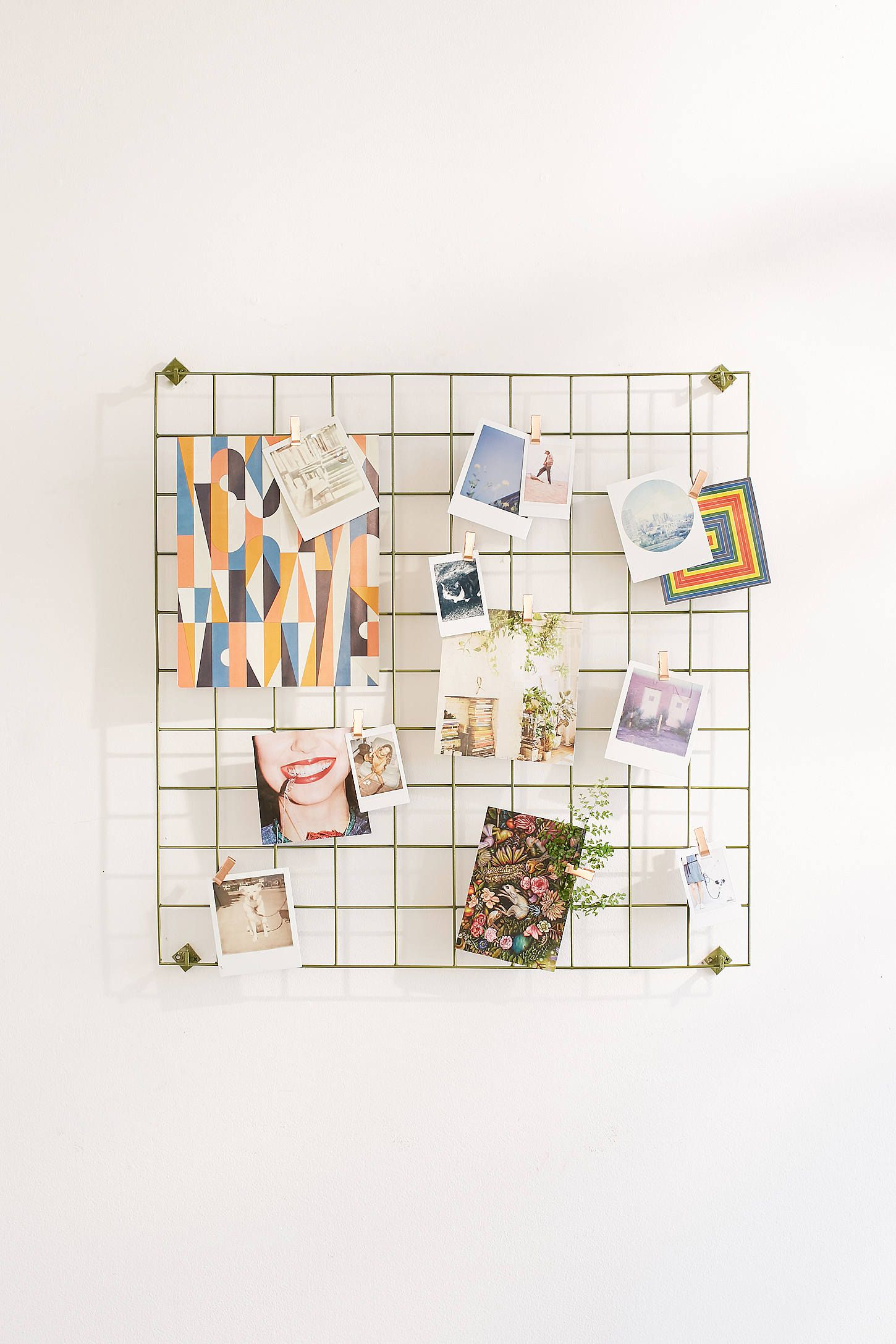 Wire Wall Square Grid Aesthetic Room Decor Wire Grid Wall Decor