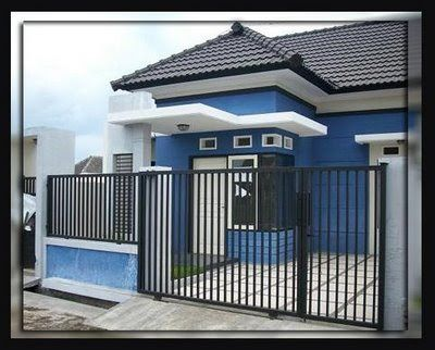 Fence Design And Simple Modern Home Home Iron Fence Or Railing In Front Of  The House Was Originally Created Just To Protect The House From .