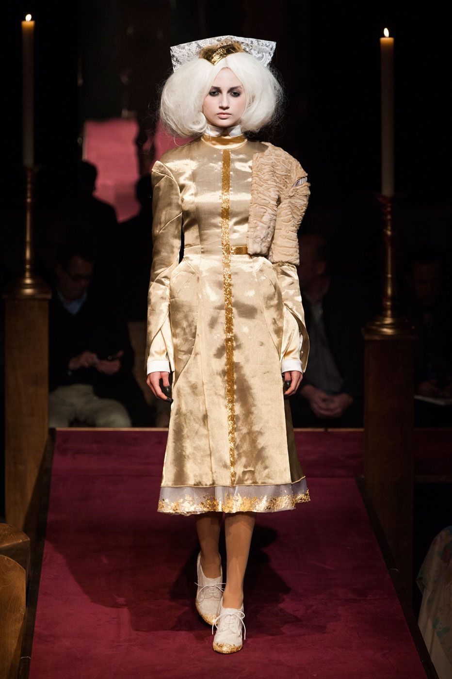 Thom Browne Built a Church, and the Fashion Crowd Came ToWorship