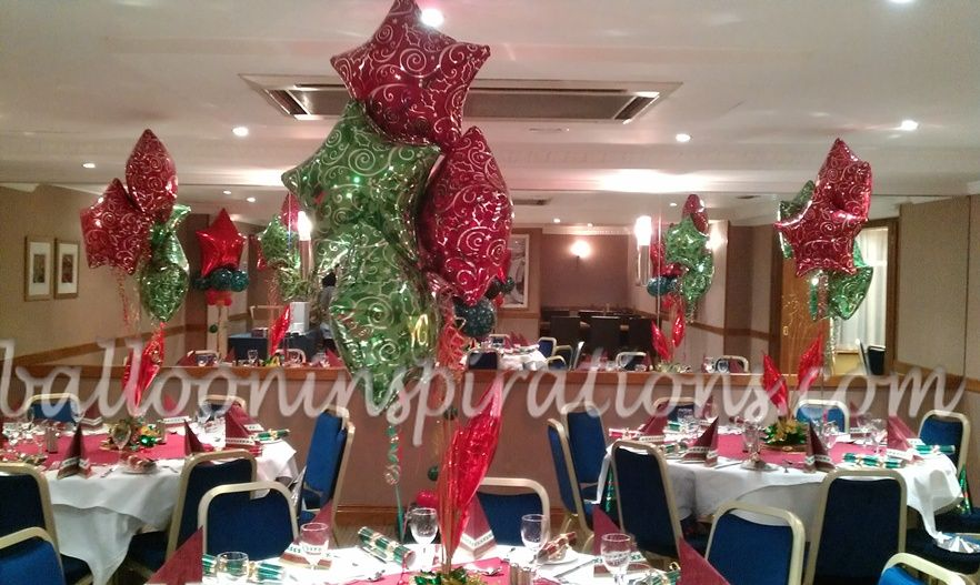 Traditional Christmas Party Ideas Part - 15: White Christmas Party Decorations | Christmas Party Decor- Traditional Decor