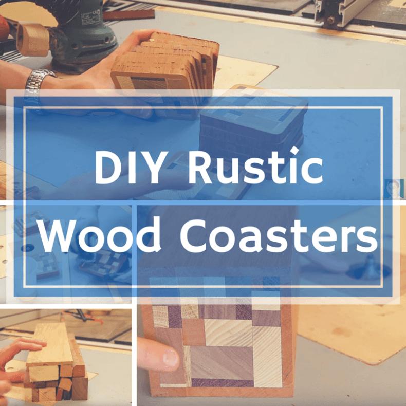 DIY Rustic Wood Coasters (1)