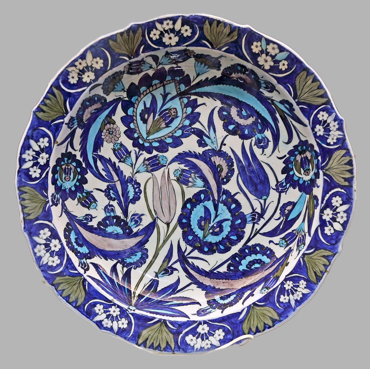 Category Iznik Ceramics Wikimedia Commons Comlek Isler Islami Sanat Essiz