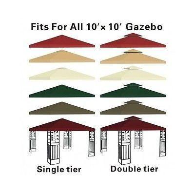 Gazebo Pergola Replacement Patio Gazebos Canopy Outdoor Metal Tent Garden Cover  sc 1 st  Pinterest & Gazebo Pergola Replacement Patio Gazebos Canopy Outdoor Metal Tent ...