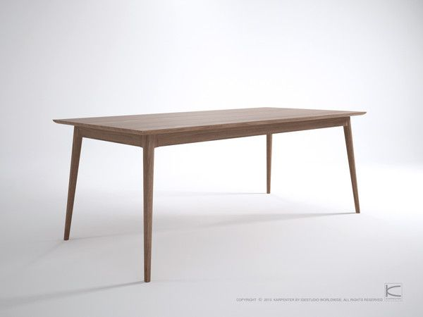 Karpenter Vintage Rectangular Dining Table Danish Style