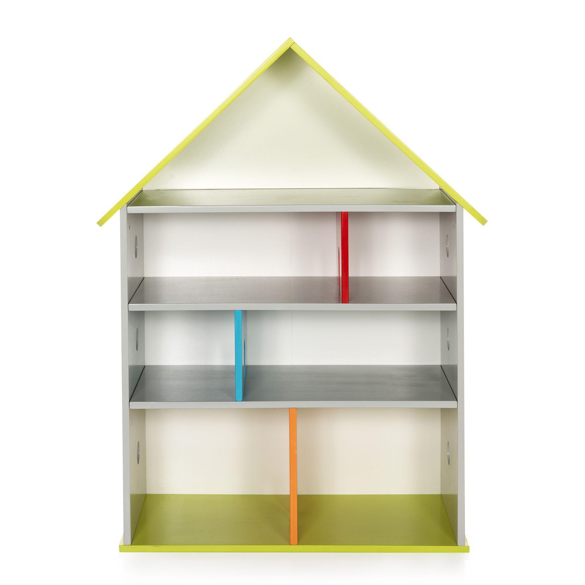 bibliothque de rangement pour enfant 115x84cm loupi tagres de chambre denfants - Etagere Enfant Deco