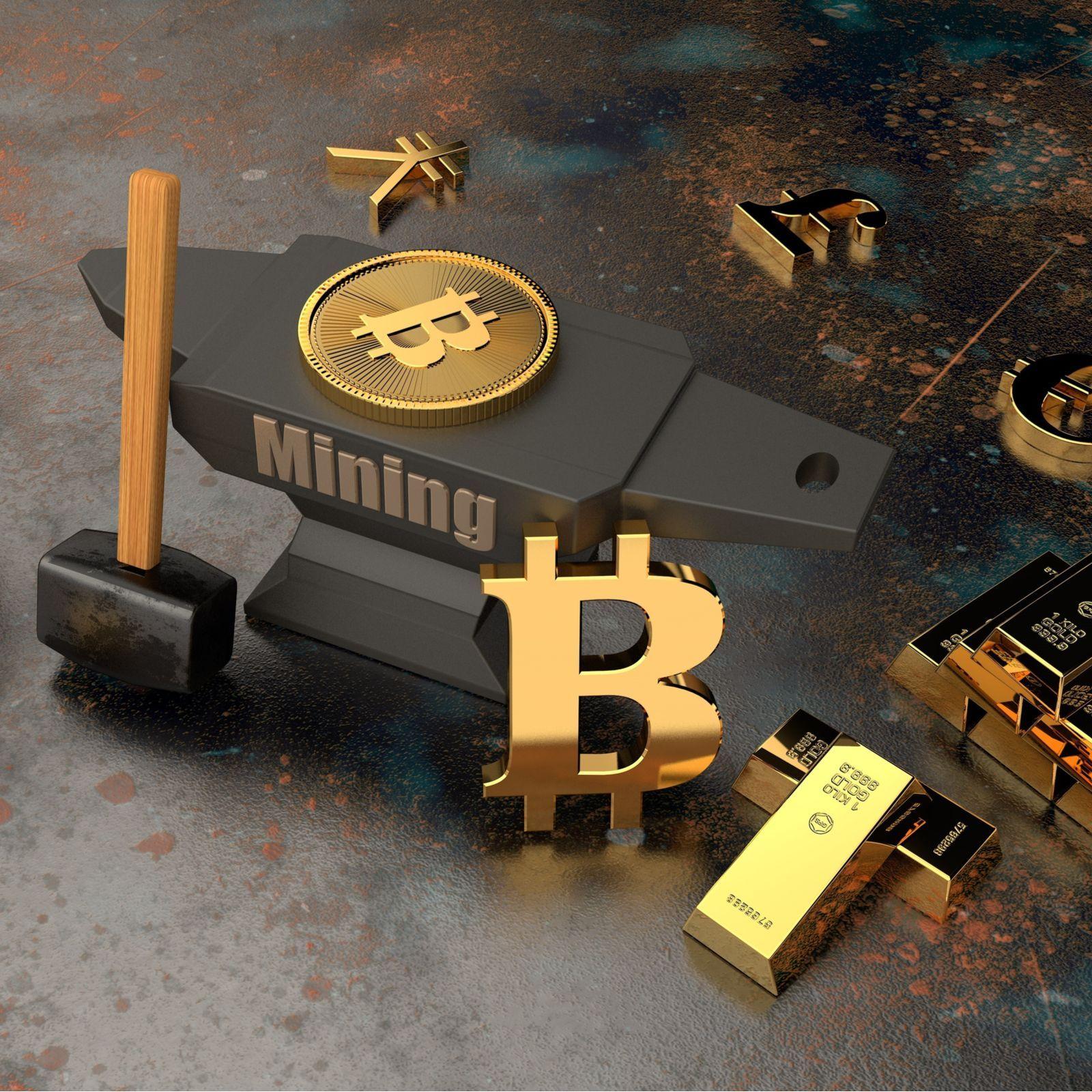 christopher mining bitcoins