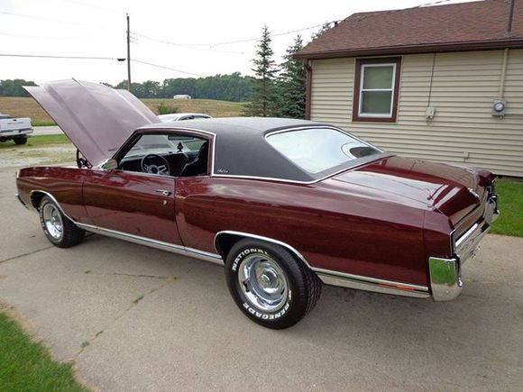 72 Monte Carlo Muscle Cars Chevy Muscle Cars Classic Cars