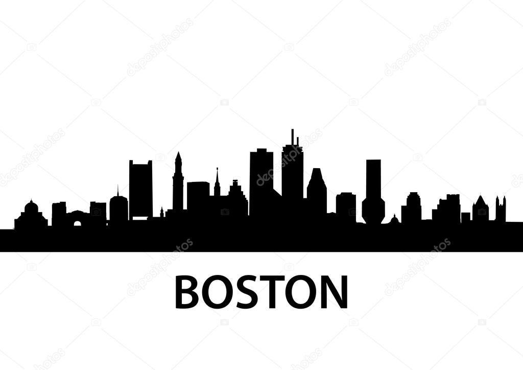 Image Result For Skyline Of Boston Boston Skyline Silhouette Boston Skyline Tattoo Boston Skyline