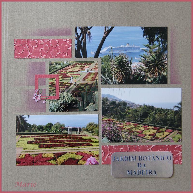 Jardin Botanique de Madère Scapbooking 4x4 Pinterest