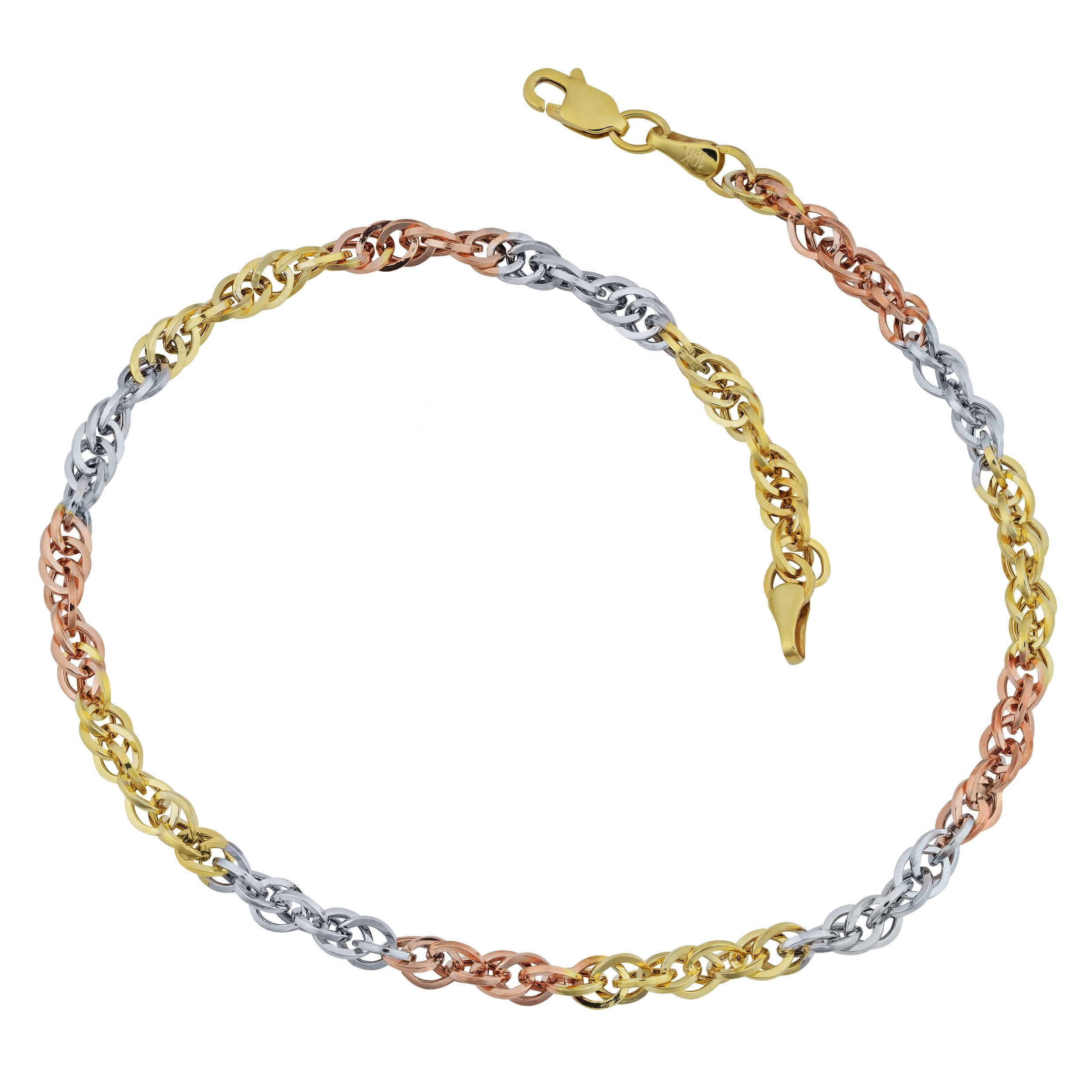 anklet chain gemstone quartz beach gold jewelry rose anklets for women pin