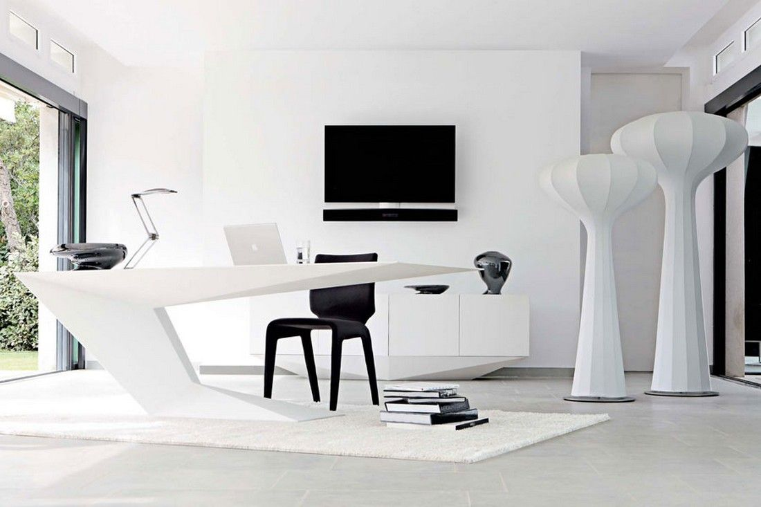 Furtif Desk By Daniel Rode For Roche Bobois Interiors