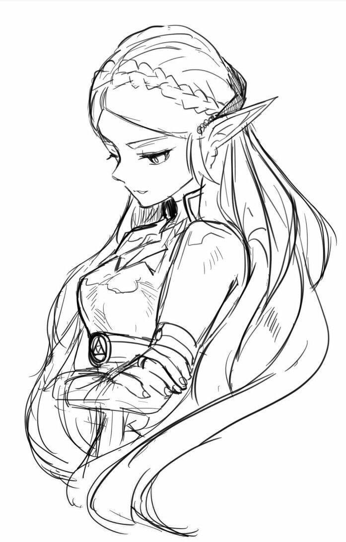 The Legend Of Zelda Zelda Priness Zelda Thelegendofzelda