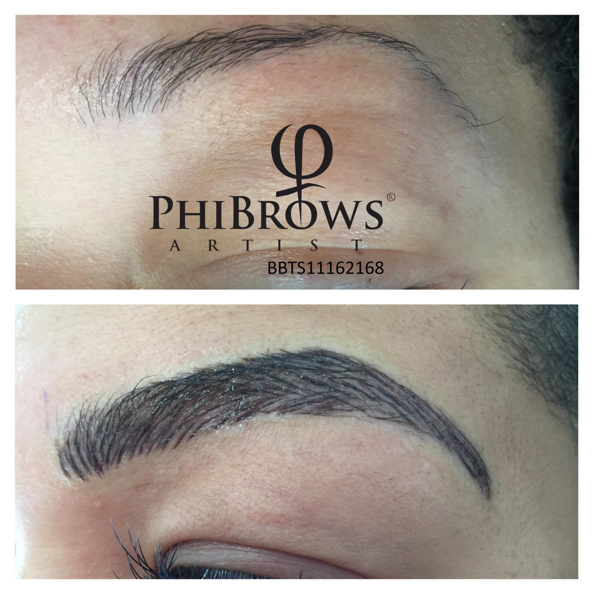 Phi Brows Micorblading Permanent Makeup Permanent Eye Brows