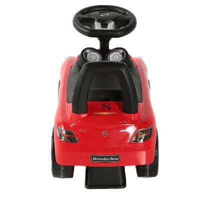 Photo of Best Ride On Cars Baby Toddler Ride-On Mercedes Benz Push Car with Sounds, Red