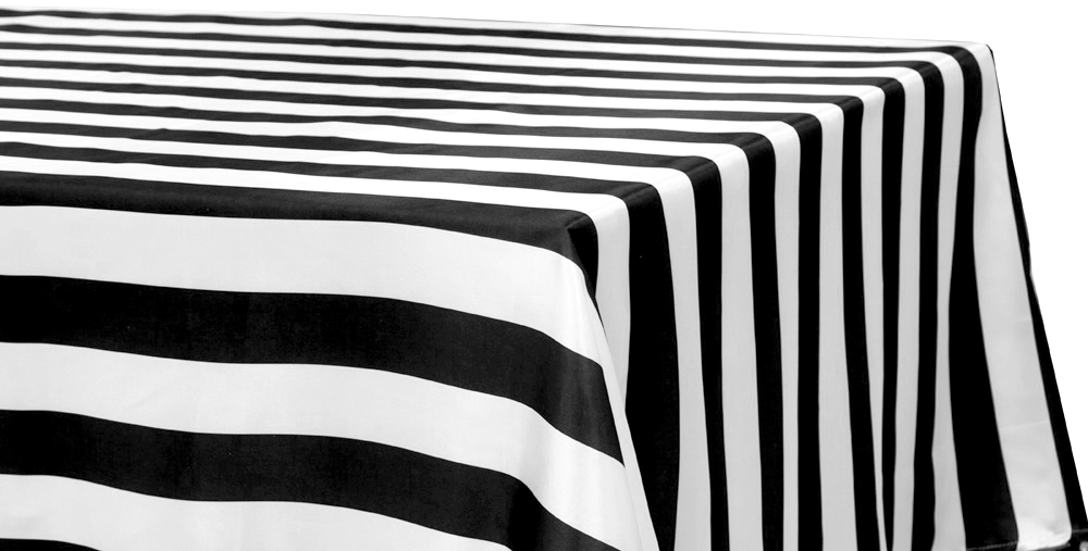 Black U0026 White Stripe Tablecloths Are An Easy DIY Photo Booth Backdrop U2022  $15.99