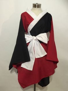 Hey, I found this really awesome Etsy listing at https://www.etsy.com/listing/225593914/harley-quinn-kimono-dress