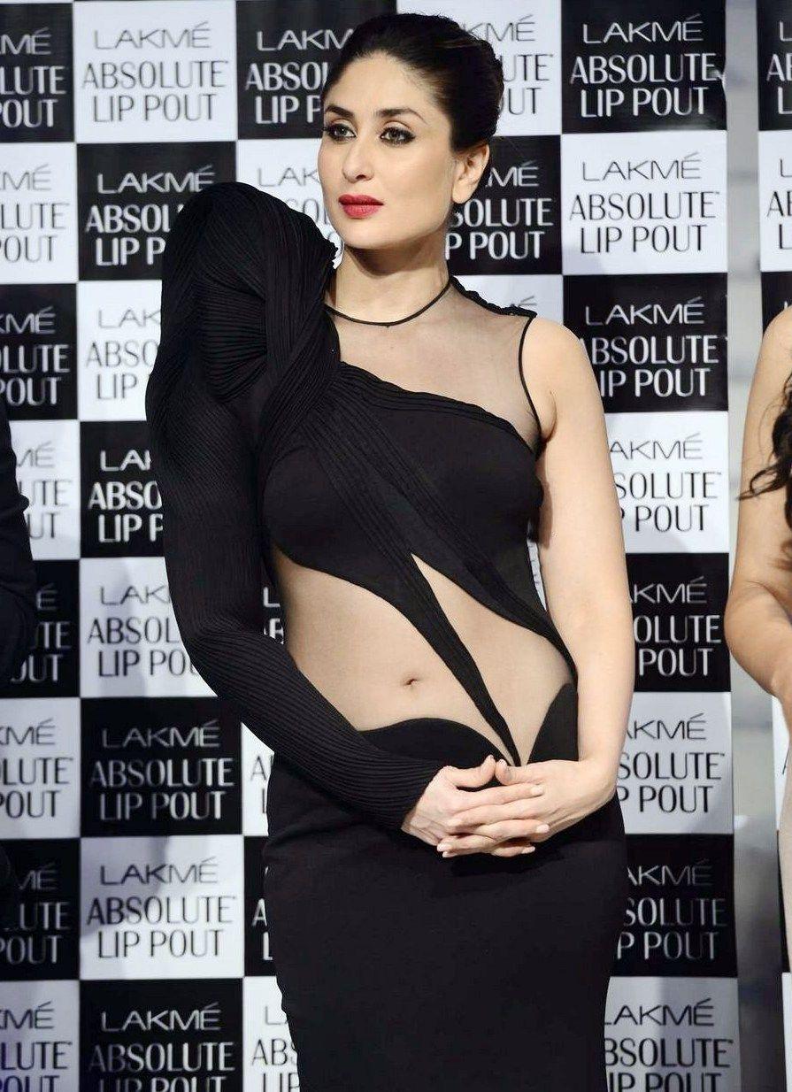 Black dress kareena kapoor - Kareena Kapoor Hot Navel Show Images In Black