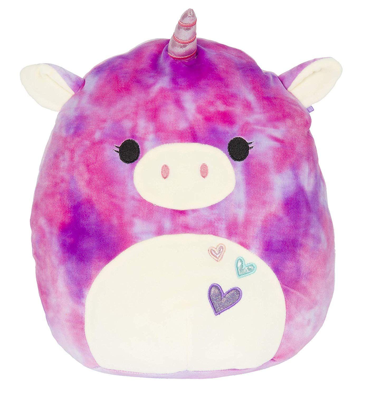 Squishmallow Limited Edition Unicorn With Heart Great For Anniversary Or Proposal Original Kellyto Unicorn Stuffed Animal Animal Pillows Plush Stuffed Animals [ 1500 x 1410 Pixel ]