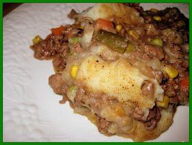 Julie's Crock of the Week!: Slow Cooker Shepherd's Pie