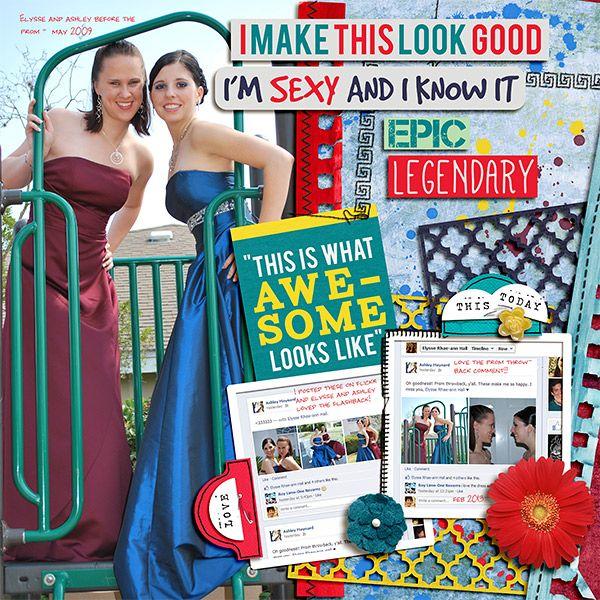 Prom Throwback - Scrapbook.com