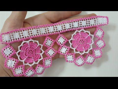 Çeyizlik Havlu Kenarı Yapımı #crochetbraids