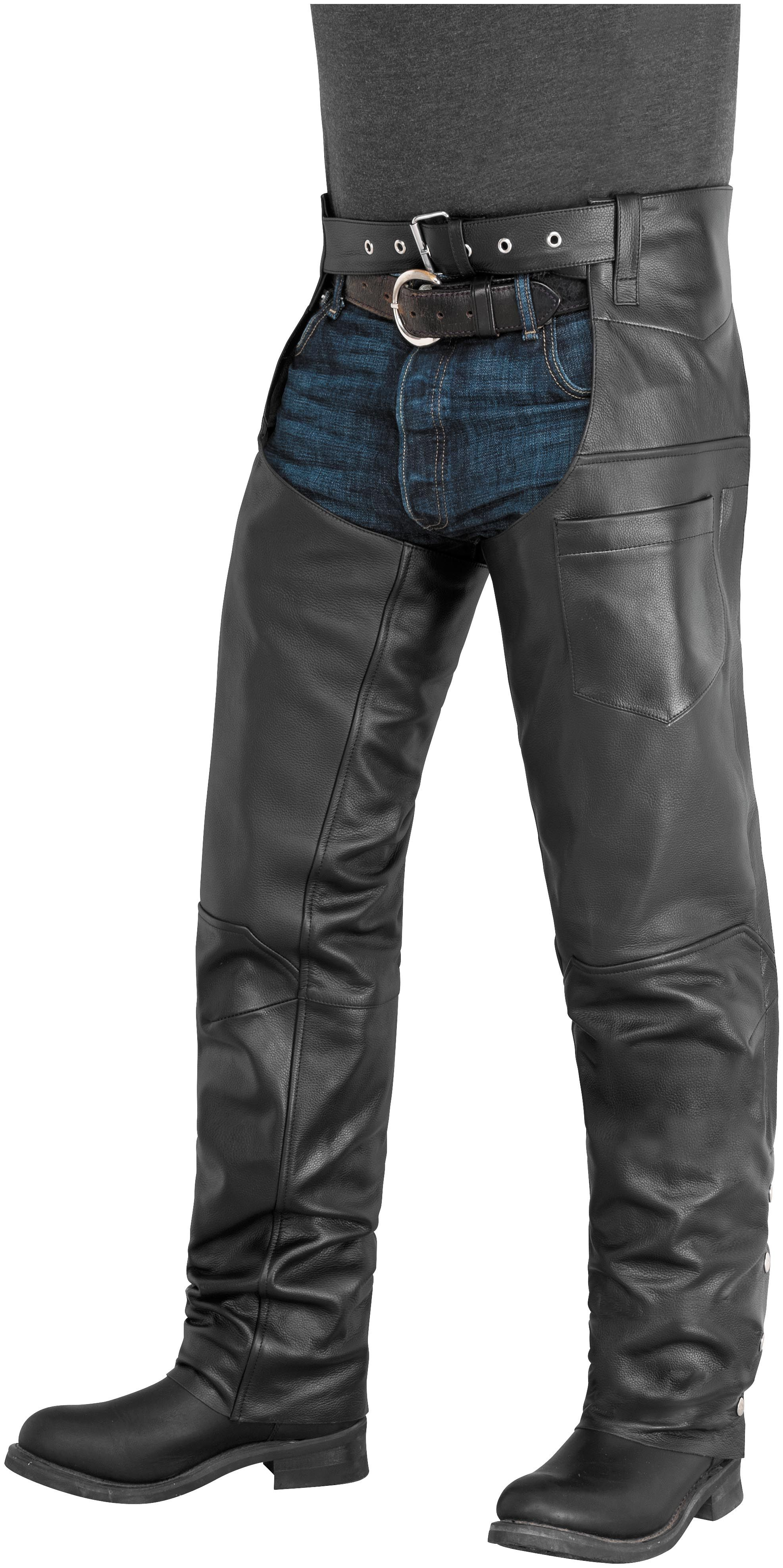 Plains Leather Chaps Motorcycle Chaps Chaps Leather Wear